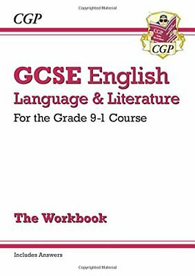 GCSE English Language and Literature Workbook - for the Grade 9-... by CGP Books