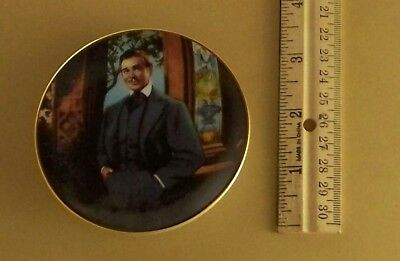 Gone With the Wind Golden Memories FRANKLY MY DEAR Mini Plate Movie Miniature #7