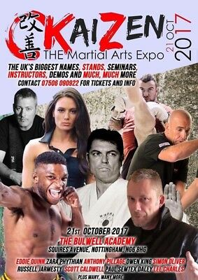Kaizen Martial arts Expo Ticket Adult