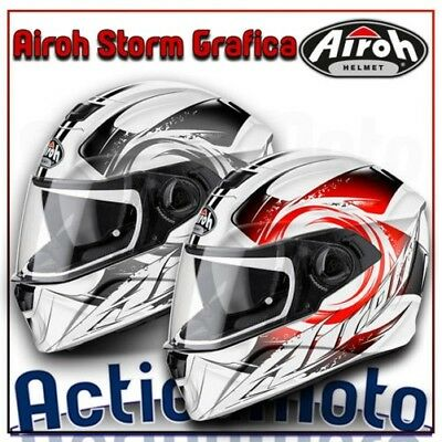 helmet Airoh Full Face Integral Storm thermoplastic motorcycle scooter
