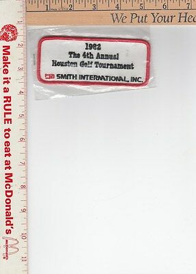 1982 4th Houston Golf Tournament golf patch see scan