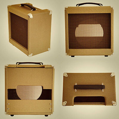 Tweed Amplifier Cabinet 8,10,12 Champ 5F1, Princeton, Deluxe 5E3, Blues Jr Style