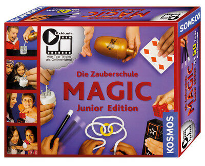 Zauberschule Magic Junior Edition | Kosmos 69820 | Kinder Zauberkasten ab 8 J.