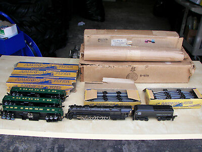 American Flyer Post War: S Gauge Passenger Set w/ ORG Box (Free Shipping)