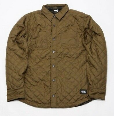 5b667d5b2 MEN'S THE NORTH Face Fort Point Insulated Flannel Nf0A332Z37U Military Olive