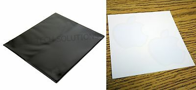 NEW Apple Microfiber Screen Cleaning Cloth iPad Macbook Air Pro Watch + Stickers