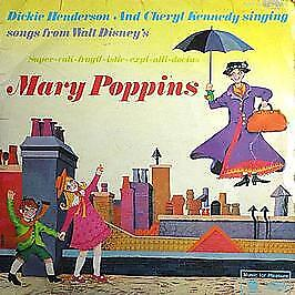 Songs From Walt Disney's Mary Poppins - Music For Pleasure - 1966 #738263