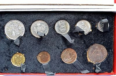 George VI 1950  9 Coin Proof Set