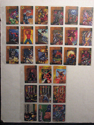 Overpower Lot of 27 cards