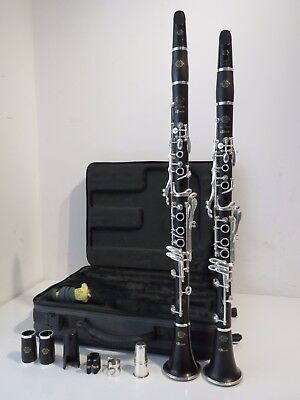 2002/3 Pair of Selmer Odyssee (Odyssey) Clarinets Bb & A & Original Double Case