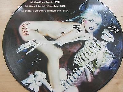 "12"" PICTURE DISC *** LADY GAGA ***  judas  part  3"