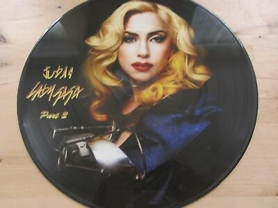 "12"" PICTURE DISC *** LADY GAGA ***  judas  part  2"