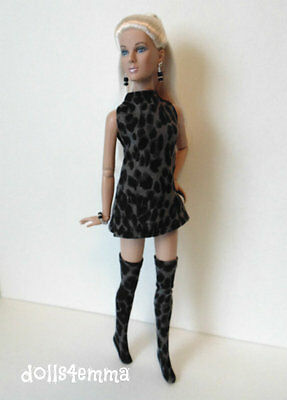 "TYLER Clothes Tonner 16"" hm DRESS & THIGH HIGHS & JEWELRY Fashion NO DOLL d4e"