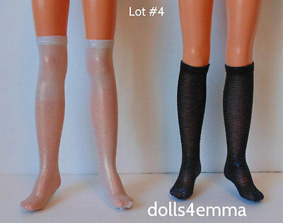 Tiffany Taylor Doll Clothes accessories Lot of 2 pairs STOCKINGS Gold & 2-tone