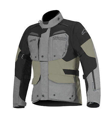 Alpinestars Durban Mens Gore-Tex Jacket Gray/Black/Sand