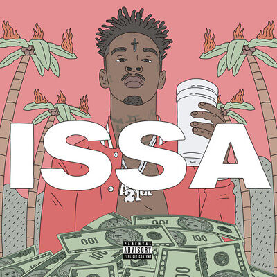 21 Savage - Issa Album [New Vinyl LP] Explicit, 150 Gram