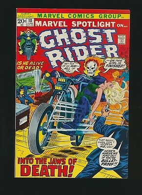 Marvel Spotlight #10, Ghost Rider , 7.0/Fine to VF