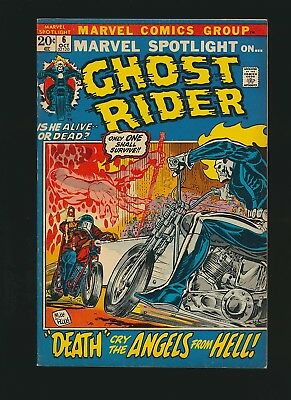 Marvel Spotlight #6, Ghost Rider , 7.5/VF-