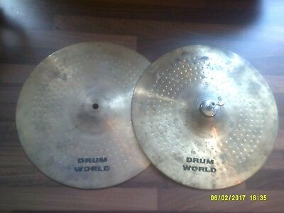 """high hat cymbals 14"""""""