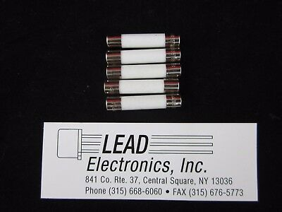 QTY5  Slow-Blow Ceramic Fuse 20 Amp 250v (for Appliances, Microwave, etc) MDA-20