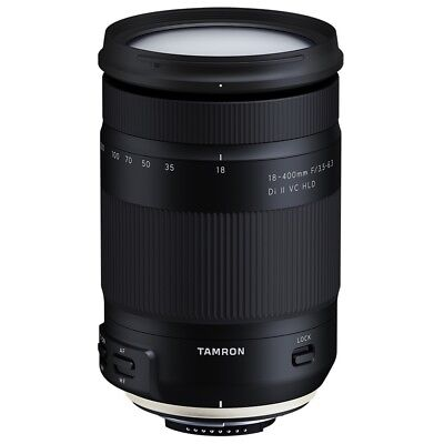 Tamron 18-400mm F/3.5-6.3 Di II VC HLD Lens in Canon Fit - £50 INSTANT CASHBACK!