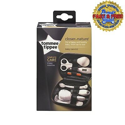 Tommee Tippee Baby Essential Health Care Kit Set Of 9 Tools For Hair Nail Teeth