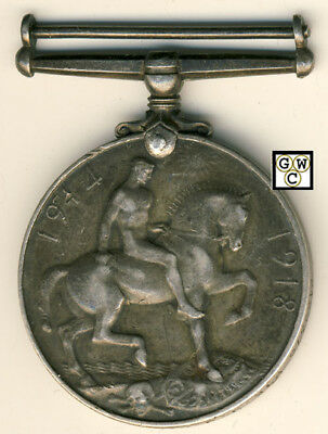 WWI Medal Named To 2129370 PTE. J.J. Langan 8-CAN. INF (OOAK)
