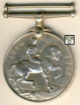 WWI Medal Named To 500487 2 CPL K. Williams C.E. (OOAK)