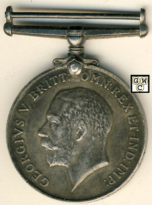 WWI Medal Named to 2503339 SPR W.S. Cotton C.R.T. (OOAK)