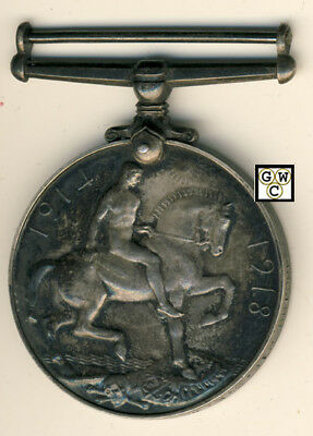 WWI Medal Named To 460199 PTE. Sidney Edwin Wood CAN. INF. WKS (OOAK)