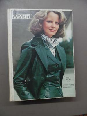 1976 Montgomery Ward Fall/Winter Catalog Fashion Home Decor Vintage Hard Cover