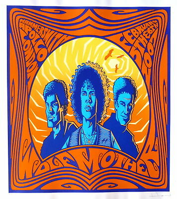 Wolfmother Poster 2007 Concert