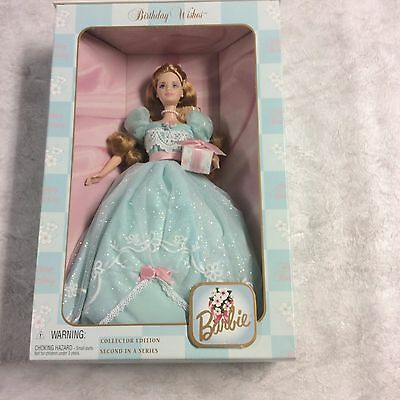 Barbie Birthday Wishes Collector Edition 2nd In Series - NRFB