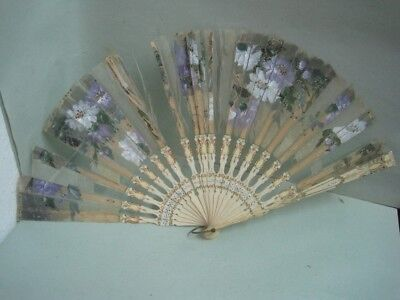 Antique fan to take advantage of the rods (repair)