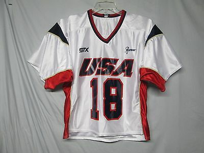Team USA Lacrosse STX # 18 Jersey Size Medium