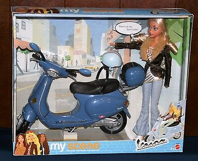 My Scene -  Getaway Doll with Vespa Scooter  NEW!!!!