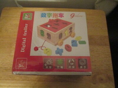 Wooden Number Educational Toy