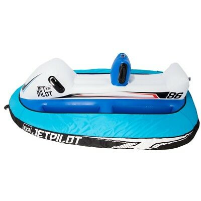 JetPilot Genuine Runabout 2 Person Inflatable Towable Donut Tow Ski Boat