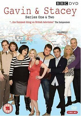 Gavin & Stacey - Series 1 & 2 Box Set [DVD] - DVD  5QVG The Cheap Fast Free Post