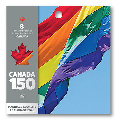 Stamp Pickers Canada 150 Canada Post 2017 Permanent Booklet Pane MNH LGBTQ2S