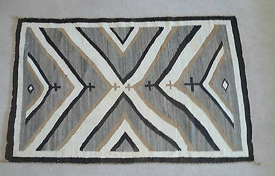 "1920's Navajo wool rug 46"" x 72"", from Garlands Navajo Rugs, Sedona, AZ"