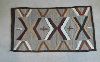 "1930's Navajo wool rug 36"" x 65"", from Garlands Navajo Rugs, Sedona, AZ"