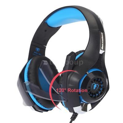 Gaming Headset mit Mikrofon LED Light Noise Reduction für PS4/Xbox One/Mac I1Z7