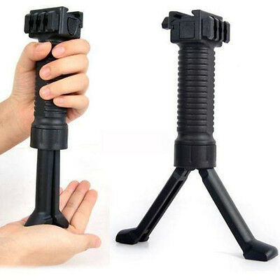 New Quick Release Vertical Support Forward Foregrip Compact Bipod Grip Pod Mount