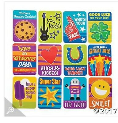 Childrens lunch box Notes 48pc 12 different designs