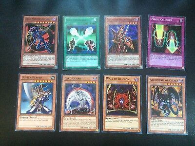 Lot of 8 Battle Pack Yugioh Cards Dark Magician of Chaos Magic Cylinder Buster