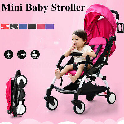 Portable Baby Stroller Lightweight Folding Toddler Travel Buggy Infant Carriage