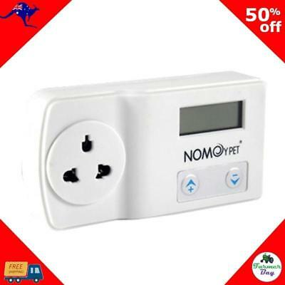 Reptile Chicken Thermostat Temp Control in White