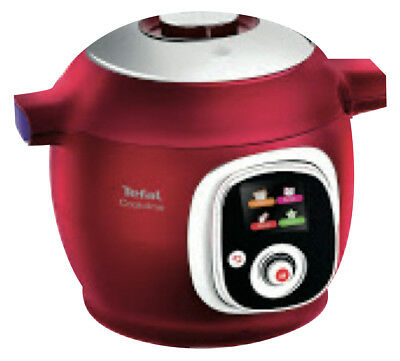 NEW Tefal CY7015 Cook4Me 6L Pressure Cooker - Red
