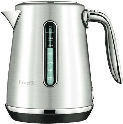 NEW Breville BKE735BSS Soft Top Luxe Kettle - Stainless Steel